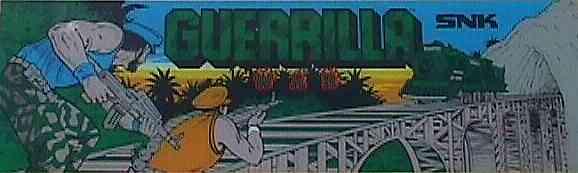 Guerrilla War - SNK - Arcade - Gameplay Screenshot