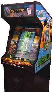 Guerrilla War - SNK - Arcade - Gameplay Screenshot - Cabinet
