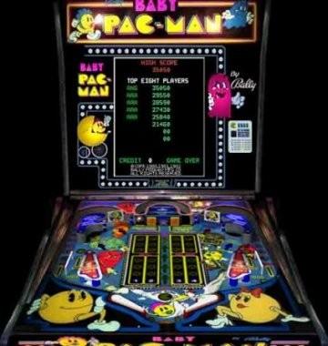Baby Pac-Man Pinball
