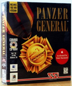 Panzer General game box