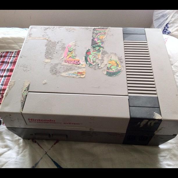 Stickers on NES