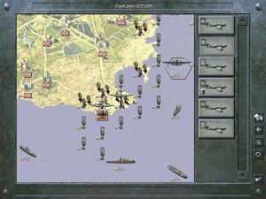 The invasion of Malta in Panzer General