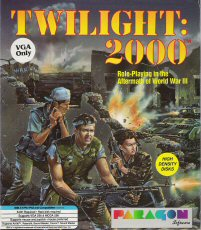 Box front for the 1991 PC Game Twilight 2000