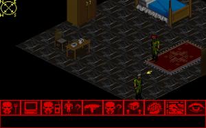Isometric exploration screen for Twilight 2000.