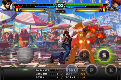 king of fighters i 2012- gameplay screenshot