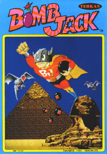 Bomb Jack - Arcade - Gameplay Screenshot
