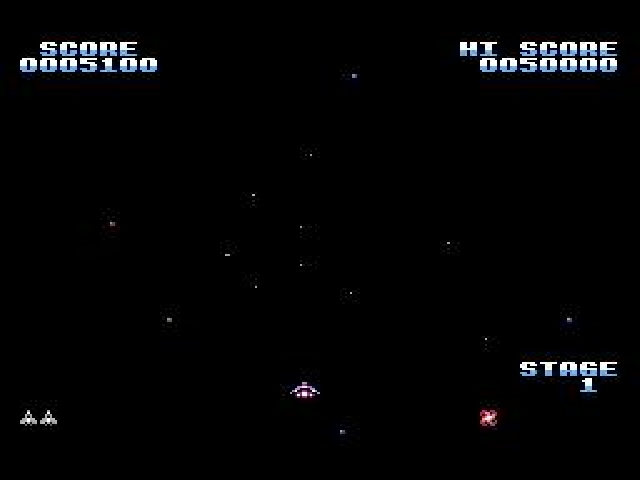 Gyruss-NES-Gameplay-screenshot