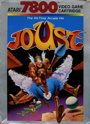 Joust - Atari 7800 - Gameplay Screenshot