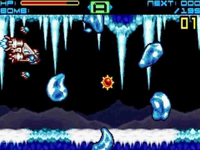 Sigma Star - Gameboy Advanced - Gameplay Screenshot