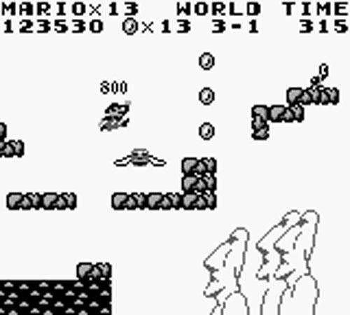 Super Mario Land - Gameplay Screenshot