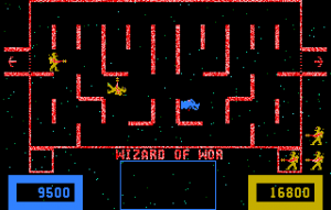 Wizard of Wor-arcade-gameplay-screenshot