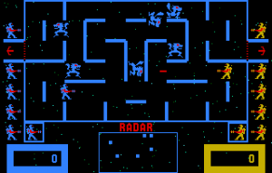Wizard of Wor-arcade-gameplay-screenshot