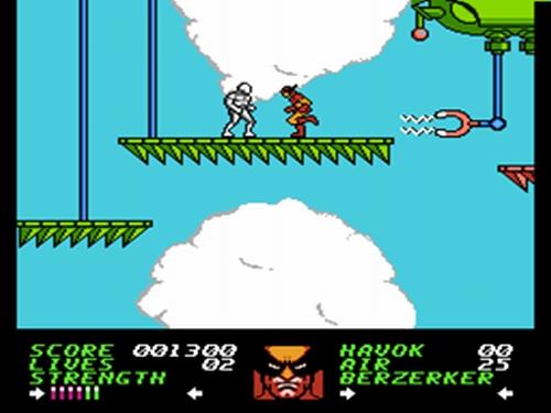 Wolverine - NES - Gameplay Screenshot
