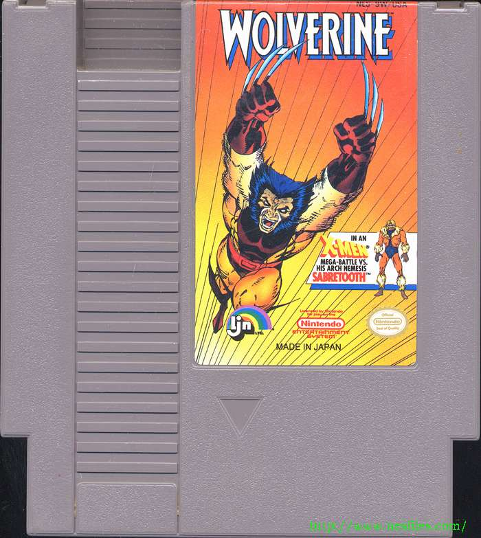 Wolverine - NES - Gameplay Screenshot
