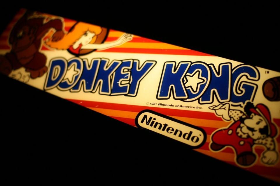 Arcade Cabinet - Donkey Kong