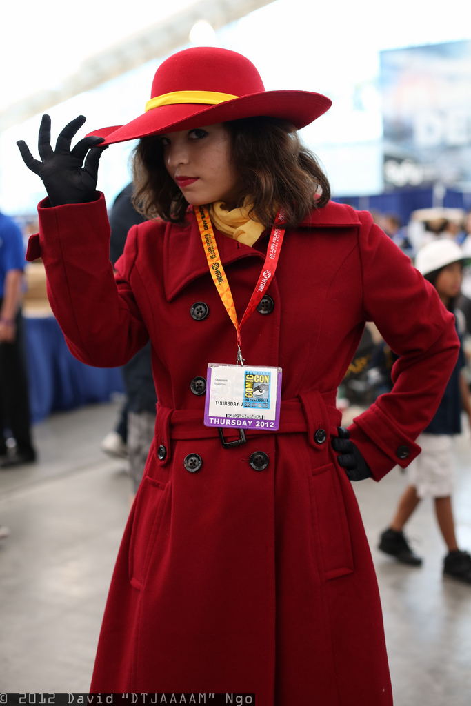 Comic-Con Cosplay 2012... Xbox 360 Games For Girls Under 12