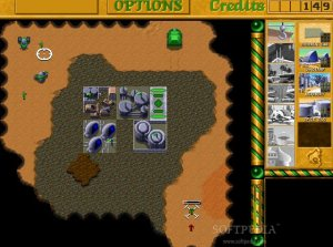 Dune II The Building of a Dynasty - Gameplay Screenshot