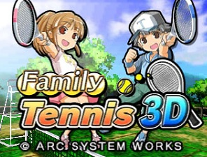 Family Tennis 3D