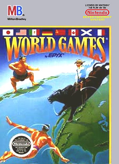 NES World Games - Gameplay Screenshot
