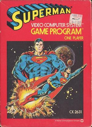 Superman - Atari 2600 - Video Game screenshot