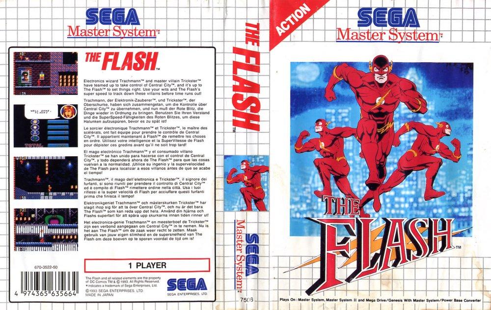 The Flash - Sega Master System - Gameplay Screenshot