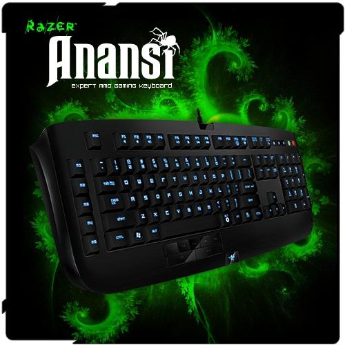 The Razer Anansi MMO Keyboard