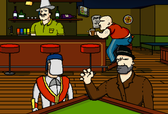 Da New Guys - Day of the Jackass - gameplay screenshot