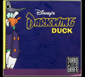 Darkwing Duck - Turbografx-16 - cover