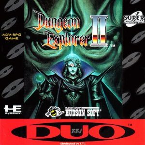 Dungeon Explorer II for the TurboDuo