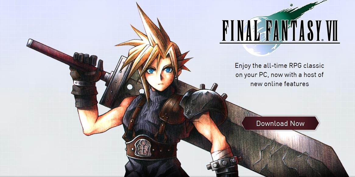 Final Fantasy 7 Pc download