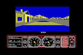 Hard Driving - Gameplay Screenshot