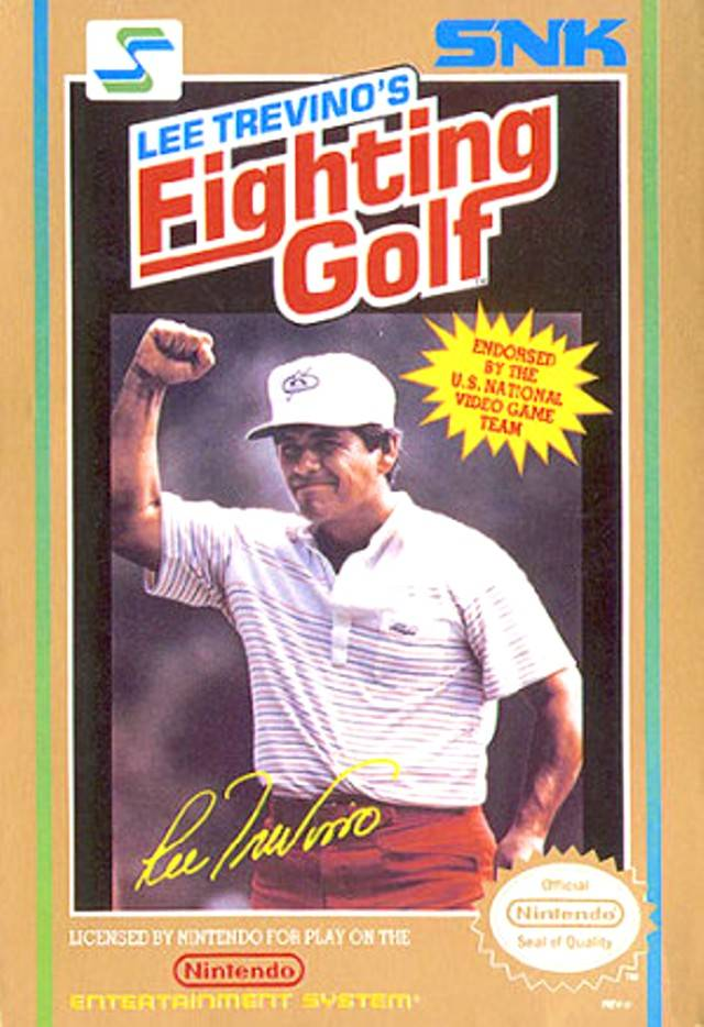 Lee Trevino's Fighting Golf - Gameplay Screenshot