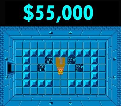 Legend of Zelda prototype sells for 55000