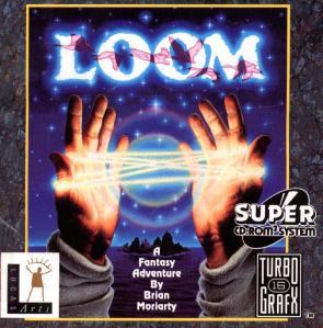 Loom for the TurboGrafx-16 TurboCD