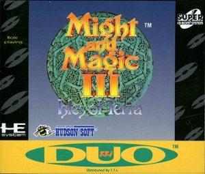 Might and Magic III for the TurboDuo