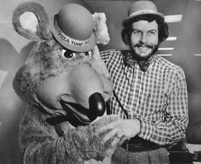 Nolan Bushnell and Chuck E Cheese