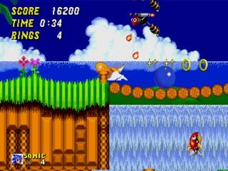 Sonic 2 - MegaDrive