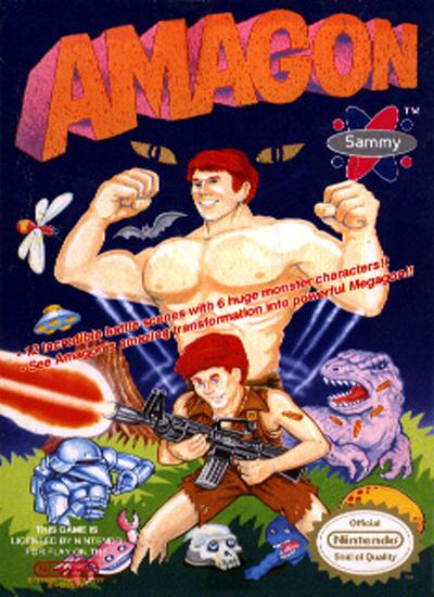 Amagon - NES - gameplay screenshot
