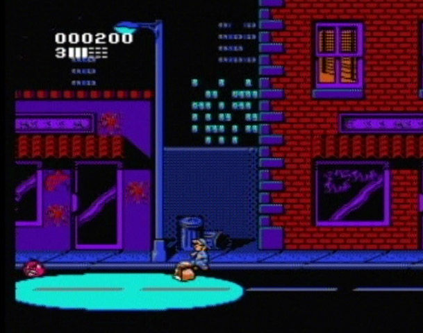 Attack of the Killer Tomatoes - NES - Gameplay Screenshot