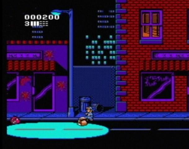 Attack of the Killer Tomatoes - NES - Gameplay Screenshot