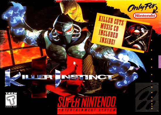 Killer Instinct - SNES - Gameplay Screenshot
