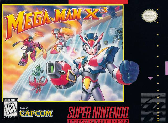 Megaman x3 - snes - gameplay screenshot