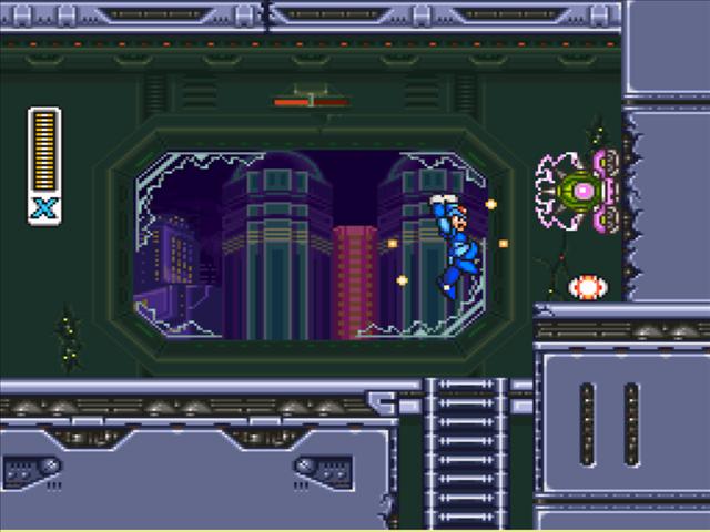 Megaman x3 - snes - gameplay screenshot
