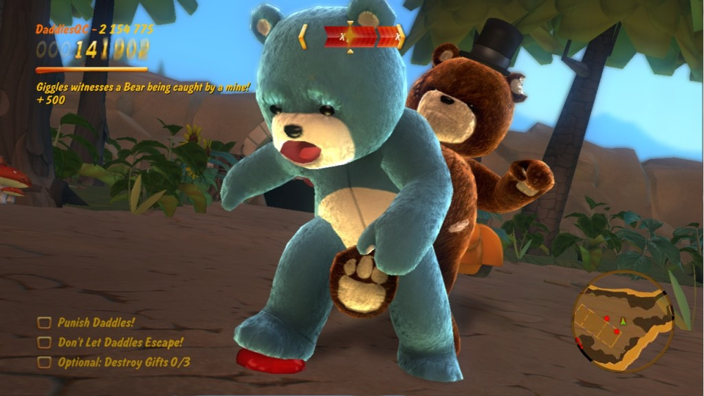 Naughty Bear - Gameplay Screenshot