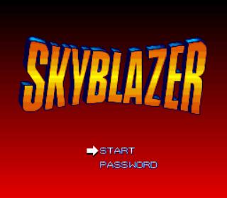 Skyblazer - SNES - Gameplay Screenshot