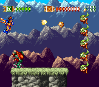 Skyblazer - SNES - Gameplay Screenshot