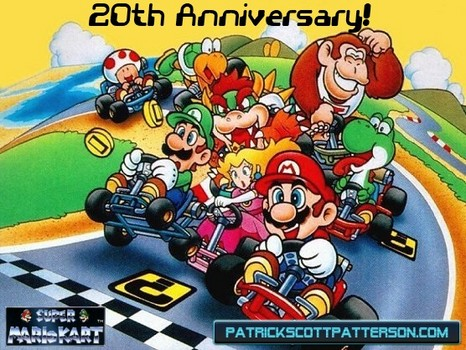 Super Mario Kart celebrates 20 year anniversary today