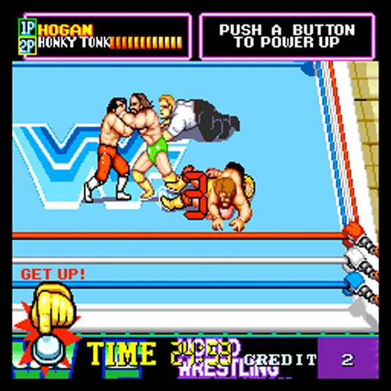WWF Superstars - Arcade - Gameplay Screenshot