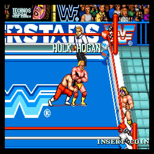 WWF Superstars - Arcade - Gameplay Screenshot