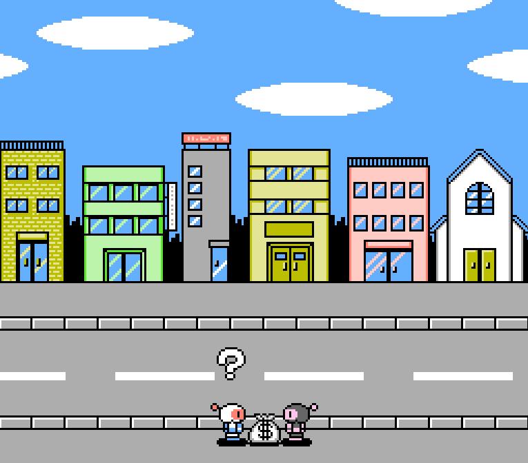 Bomberman 2 - NES - Gameplay screenshot